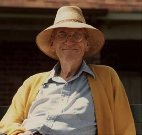 Robert K. Greenleaf á áttræðisafmæli sínu árið 1984
