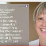 Menningarhæfni, barneignarþjónusta og þjónandi forysta – Birna Gerður Jónsdóttir