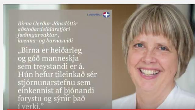 Birna Gerdur Heidrud LSH 2016