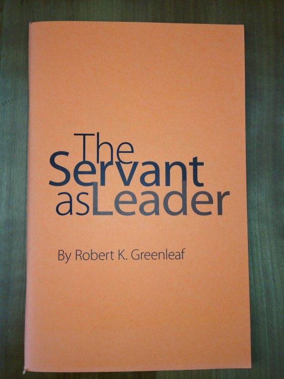 Servant-As-Leader